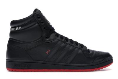 adidas Top Ten Hi Detroit vs. Everybody Core Black/Core Black/Scarlet EE9289