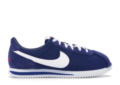 Nike Cortez Los Angeles Blue (GS) Deep Royal Blue/White-Metallic Silver-University Red CI9957-400