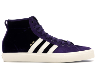 adidas Matchcourt High RX Na-Kel Smith Purple Velvet Dark Purple/Ecru/Metallic Gold CQ1119
