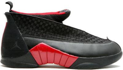 Jordan 15 Retro Bred CDP (2008) Black/Red 317111-062