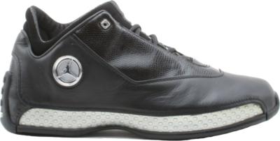 Jordan 18 OG Low Black Silver Chrome 306151-001
