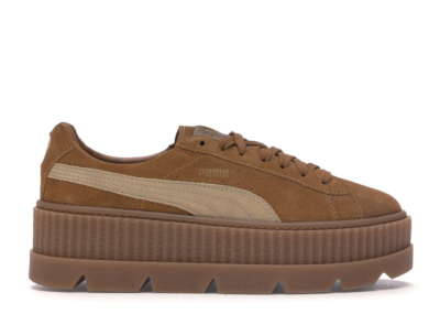 Puma Cleated Creeper Rihanna Fenty Golden Brown (W) 366268-02