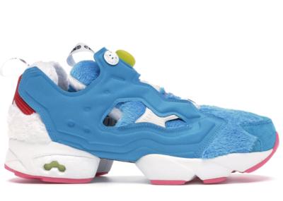 Reebok Instapump Fury Packer Shoes X Atmos Doraemon Farout Blue/White-Instinct Blue BS7368