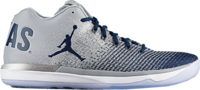 Jordan XXX1 Low Georgetown Wolf Grey/College Navy-White 897564-007