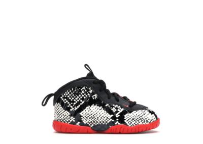 Nike Air Foamposite One Albino Snakeskin (TD) Sail/Habanero Red-Black 723947-104