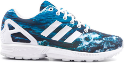 adidas ZX Flux Ocean Graphic Blue M19846