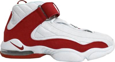 Nike Air Penny IV White Red White/Varsity Red-Neutral Grey 312455-161