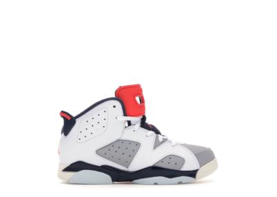 Jordan 6 Retro Tinker (PS) White/Infrared 23-Neutral Grey-Obsidian 384666-104