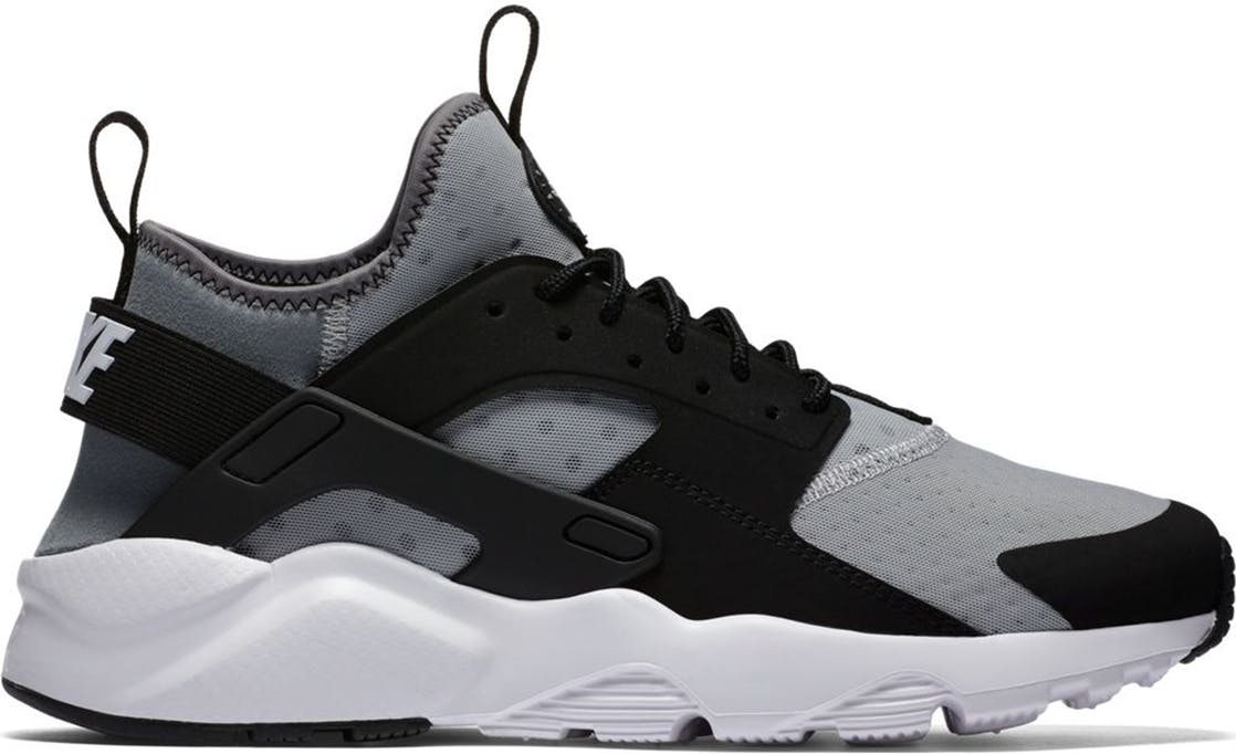 Nike Air Huarache Run Ultra Wolf Grey Black Wolf Grey/White-Black-Cool Grey 819685-010