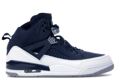 Jordan Spizike Midnight Navy Midnight Navy/Metallic Silver-White 315371-406