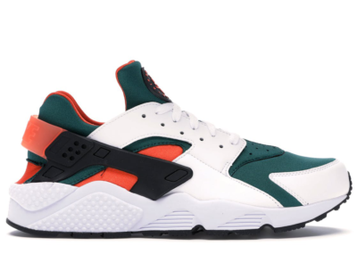 Nike Air Huarache Run Miami Hurricanes AT4254-102