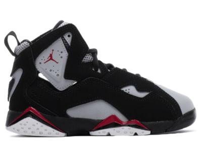 Jordan True Flight Black (PS) Black/Varsity Red/Wolf Grey 343796-060