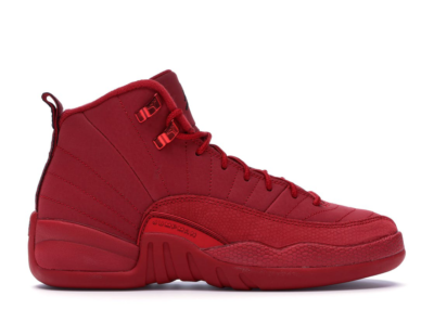 Jordan 12 Retro Gym Red 2018 (GS) Gym Red/Black-Gym Red 153265-601