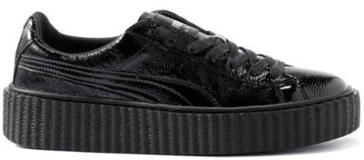 Puma Creeper Rihanna Fenty Cracked Leather Black Black/Black 364641-01