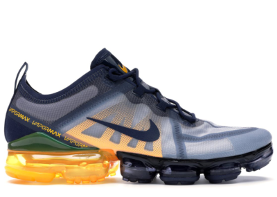 Nike Air VaporMax 2019 Midnight Navy Laser Orange Midnight Navy/Midnight Navy-Laser Orange-Obsidian Mist AR6631-401