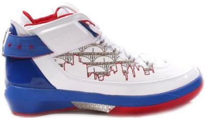 Jordan 22 OG Rip Hamilton PE White/Metallic Silver-Varsity Royal-Varsity Red 317141-102