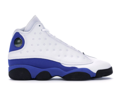 Jordan 13 Retro White Hyper Royal Black (GS) 884129-117