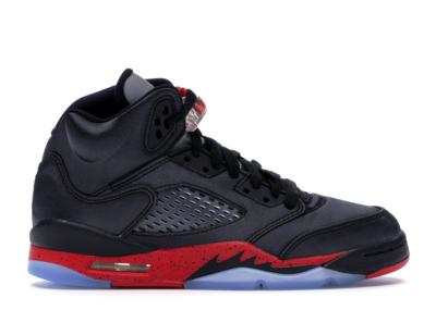 Jordan 5 Retro Satin Bred (GS) Black/University Red 440888-006