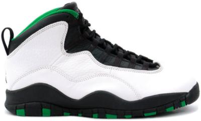 Jordan 10 OG Seattle Supersonics White/Black/Kelly Green 130209-106