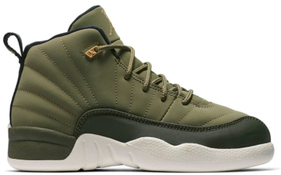 Jordan 12 Retro Chris Paul Class Of 2003 (PS) Olive Canvas/Black-Sail 151186-301