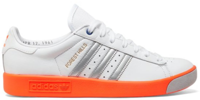 adidas Forest Hills White Silver Orange Cloud White/Matte Silver/Crystal White EE5740