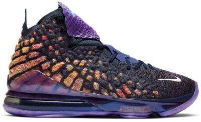 Nike LeBron 17 Monstars (GS) Navy Heather/Multi-Color-Black CW1036-400