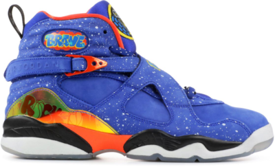 Jordan 8 Retro Doernbecher (GS) Hyper Blue/Electro Orange-Black 729894-480