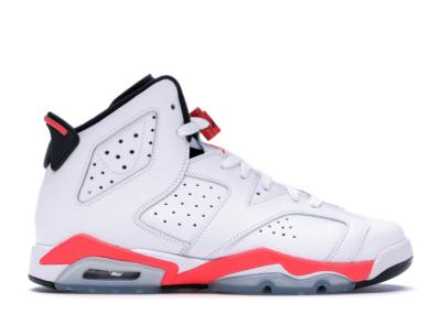 Jordan 6 Retro Infrared White 2014 (GS) 384665-123