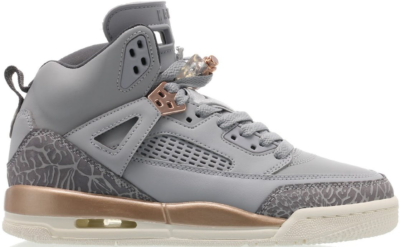 Jordan Spizike Wolf Grey Metallic Red Bronze (GS) Wolf Grey/Dark Grey-Metallic Red Bronze-Sail 535712-018