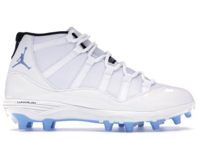 Jordan 11 Retro Cleat Columbia White/University Blue-Black AO1561-117