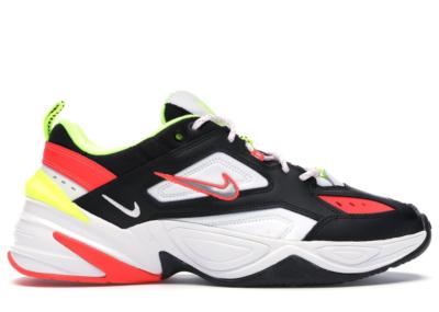 Nike M2K Tekno Black Volt Crimson Black/White-Volt-Metallic Silver CI2969-003