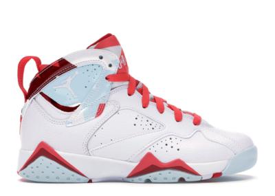 Jordan 7 Retro Topaz Mist (GS) White/White-Topaz Mist-Ember Glow-Gym Red 442960-104