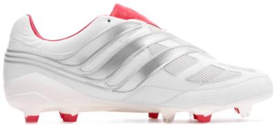 adidas Predator Precision FG 25 Year Pack David Beckham Footwear White/Silver Metallic/Predator Red F97223