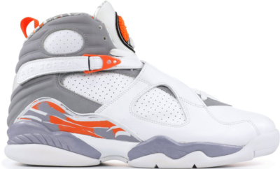 Jordan 8 Retro Orange White White/Stealth/Orange Blaze 305381-102