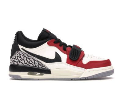 Jordan Legacy 312 Low Chicago (GS) Summit White/Black-Varsity Red-Sail CD9054-106