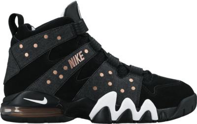 Nike Air Max 2 CB 94 Black Denim Black/White-Metallic Red Bronze 305440-004