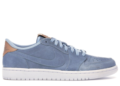 Jordan 1 Retro Low OG Ice Blue Ice Blue/Vachetta Tan-White 905136-402