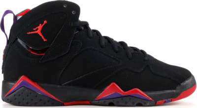 Jordan 7 Retro Raptors 2012 (GS) Black/Tr Red-Dark Chrcl-Clb Purple 304774-018