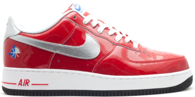 Nike Air Force 1 Low All-Star 2010 Red Varsity Red/Metallic Silver-White-Black 315122-602