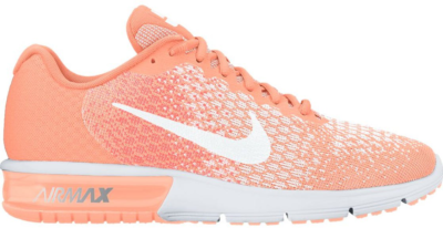 Nike Air Max Sequent 2 Sunset Glow (W) Sunset Glow/White 852465-800