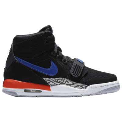Jordan Legacy 312 Knicks (GS) Black/Rush Blue-Brilliant Orange AT4040-048