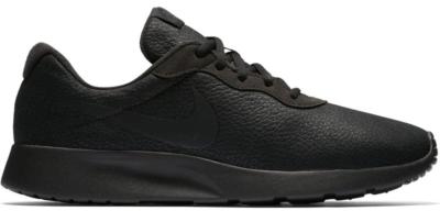 Nike Tanjun Premium Black Leather Black/Black-Anthracite 876899-005