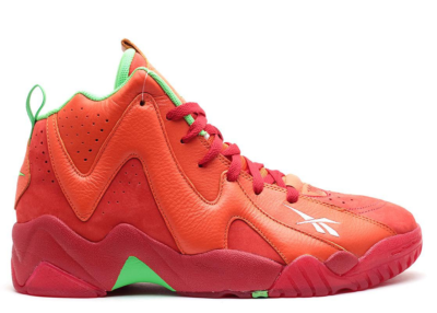 Reebok Kamikaze II Packer Shoes Chili Pepper Red/Orange/Green V53622