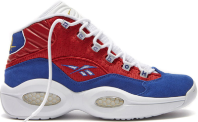 Reebok Question Mid Banner Red/Royal/White M46120