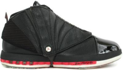 Jordan 16 Bred (2001) Black/Varsity Red 136059-061