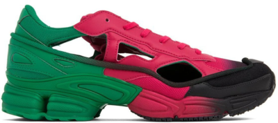adidas Replicant Ozweego Raf Simons Green Vivid Berry EE7932