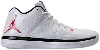 Jordan XXX1 Low Chicago (Home) White/University Red-Black-Pure Platinum 897564-101
