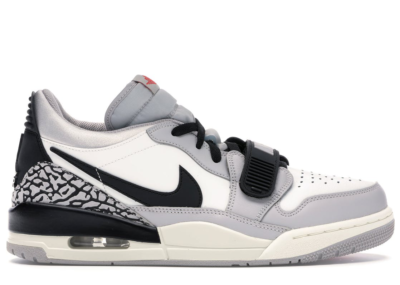 Jordan Legacy 312 Low Tech Grey Fire Red Black Summit White/Fire Red-Tech Grey-Black CD7069-101