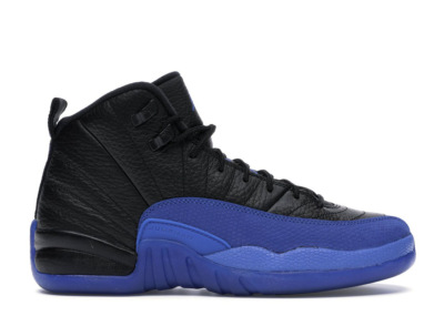 Jordan 12 Retro Black Game Royal (GS) Black/Game Royal-Black 153265-014