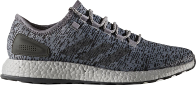 adidas Pure Boost Grey Grey/Dark Grey Heather/Solid Grey S80703